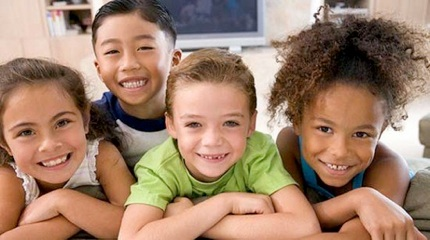 Four-Happy-Children-550x307